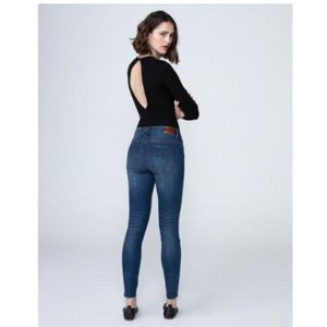 Unpublished Jeans - Unpublished Kora Midrise Skinny Jean Blue